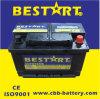 12V66ah de nieuwe Automobiele Batterijen van de Auto voor het AutoBegin van het Voertuig