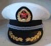 Cap Pico bordado a mano militar