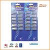 Plastikplatin-überzogenes dreifaches Edelstahl-Blatt-wegwerfbares Rasiermesser (DS-9113)