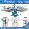 Печатные машины Yh Series Custom Automatic Rotary T-Shirt Silk Screen на Fabric для Sale