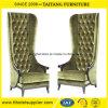 Dekoration-Qualität, die hohen rückseitigen König Queen Chair Wedding ist