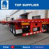 Titan-Fahrzeug - 40 ft.-Tridem Wellen-halb Flachbettschlußteil für Behälter-Träger
