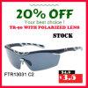 Action ! Le meilleur sport le meilleur marché polarisé pêchant des lunettes de soleil avec le certificat de la CE