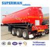 40cbm 3車軸液体の輸送の石油燃料のタンカー