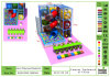Kaiqi Elite Soft Play Indoor Playground con Spiral Tube Slide e Ball Pit - Many Colours Available (KQ20150305-TQBZ44A)