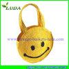 Cute hecho a mano Wheat Straw Handbag para Girls