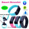 Браслет Bluetooth высокого качества франтовской с водоустойчивым IP67 (E01)