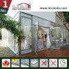 販売のための屋外のためのガラス壁が付いている結婚式の玄関ひさしのテント