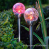 Luz da esfera de cristal de aço inoxidável para o caminho do jardim (RS106A)
