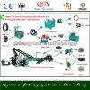 Linea di produzione di gomma residua della polvere
