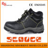 Кожаный ботинки безопасности вскользь ботинок для людей и женщин