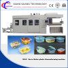 Le conteneur de nourriture de qualité formant l'empilement de machine transportent