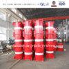 Construction Jackstand hydraulique de soudure de fabrication de structure métallique