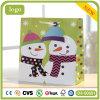 Bolsa de papel del modelo del muñeco de nieve de la Navidad