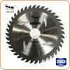 Hoja de sierra de carburo de tungsteno Tct la hoja de sierra para cortar madera y aluminio