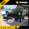 Lutong 60HP Mini ferme tracteur à roues LT604 avec chargeur frontal pour la vente