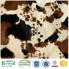 Cow Print False Fur Fabric