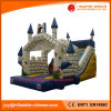 ' la trasparenza rimbalzante gonfiabile congelata del castello 28 per il partito gioca (T4-610)