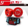 L'acoustique de moto avec la fonction d'alarme et le Bluetooth répondent au téléphone
