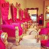 Le Roi Throne Beauty Pedicure Chairs pour le salon avec la fonction CB-Fp003 de massage