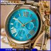 Orologio delle signore dell'acciaio inossidabile del ODM (WY-P17005A)
