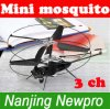 elicottero della zanzara di controllo radiofonico di CH R/C del metallo 3 di 21cm (807-10)