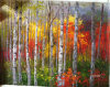 Pittura descritta di stile dalla foto--Paesaggio 016