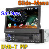 7  1人のDINのダッシュHD車のDVDプレイヤー土曜日Nav DVB-T (ES828D)