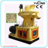 China Supply Wood Pellet Mill com Vertical Ring Die