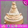 Personalizar los regalos de dibujos animados Feliz Cumpleaños de madera Caja de música para niños W07b055