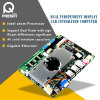 Gigabyte 4 LAN Motherboard van de Firewall van de Haven met LAN RJ45 aan M12 4pin Schakelaars