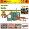 Video Youtube Qt5-20 im automatischen hydraulischen Block, der Maschine für Afrika-Preis herstellt