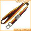 Высокое качество пользовательских шнурок из полиэфирного волокна для ID держатель карточки (YB-SM-21)