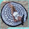 Горячего хлопка сбывания круглое полотенце 100% пляжа