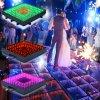 Club de nuit de la qualité câblé Miroir Infini sensibles pour la vente de plancher de danse à LED
