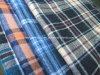 Verificación teñida Fabric-Lz6699 de la franela del hilo de algodón