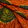 실제적인 왁스 직물을 인쇄하는 아프리카 면