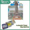 Alta velocidad Multiwall Bottom-Pasted Bolsa de papel que hace la máquina