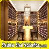 최신 판매에 의하여 주문을 받아서 만들어지는 스테인리스 상반 포도주 잔 선반