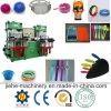 Machine de moulage de vide de deux stations pour des produits en caoutchouc et de silicones