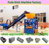 Machine à blocs de béton plein ciment blanc pour unité de fabrication de briques