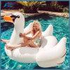 Riesige Pool-Gleitbetriebs-aufblasbares weißes/Schwarzes/goldener Schwan-Schwimmen-Gleitbetrieb