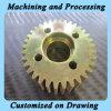 CNC Machining Milling Parts с Zinc Plating