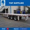 BEHÄLTER-Transport-Schlussteile des Titan-Fahrzeug-3axle Flachbettfür Verkauf