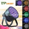 36 * 12W + RGBWA lavado UV 6en1 PAR luz LED para el disco