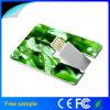 Asunto al por mayor Pendrive de la tarjeta de crédito del plástico 8GB
