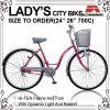 Señora ligera Bicycle (AYS-2617S) de la ciudad del automóvil descubierto de 26 pulgadas