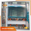 Madera contrachapada que hace tarjeta multi de la capa la máquina caliente de la prensa