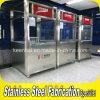 Cabine de billetterie préfabriquée en acier inoxydable pour métro