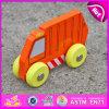 2015 Carro de brinquedo de madeira colorido para criança, carro de brinquedo de madeira promocional para crianças, presente de Natal Brinquedo de madeira para bebê W04A125